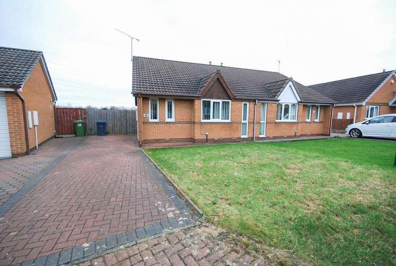 2 Bedrooms Bungalow for sale in Berkeley Close, Boldon Colliery