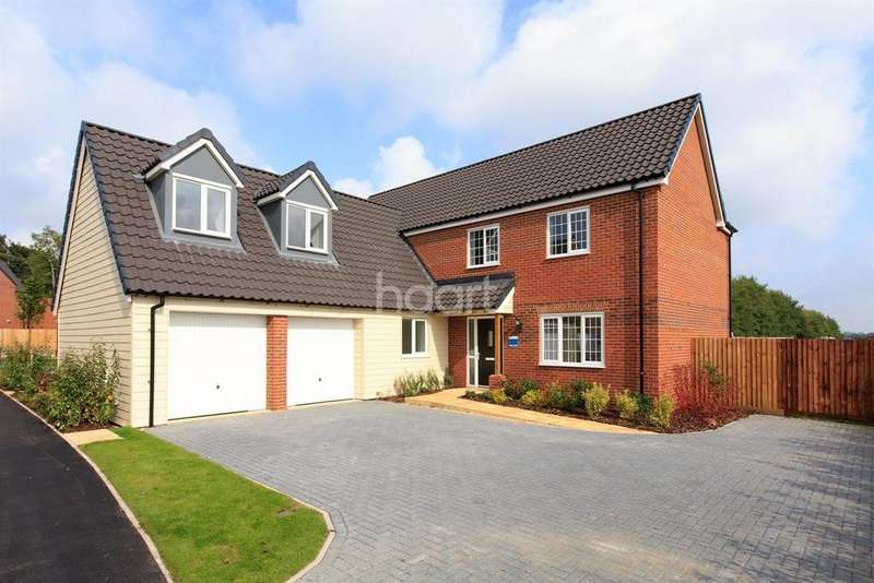5 Bedrooms Detached House for sale in The Woburn, Saxon Fields