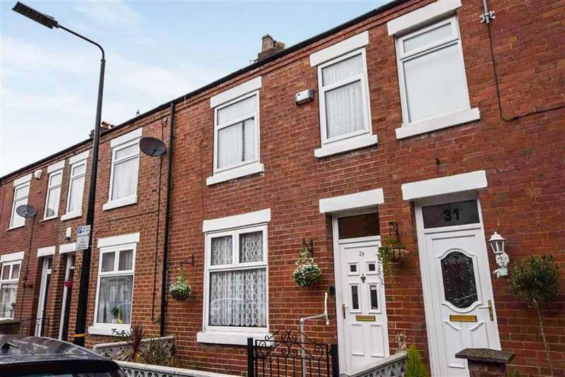 2 Bedrooms Terraced House for sale in Albion Street, Sale, M33