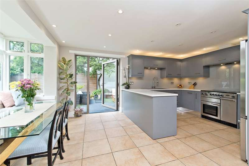3 Bedrooms Semi Detached House for sale in Bathgate Road, Wimbledon, London, SW19