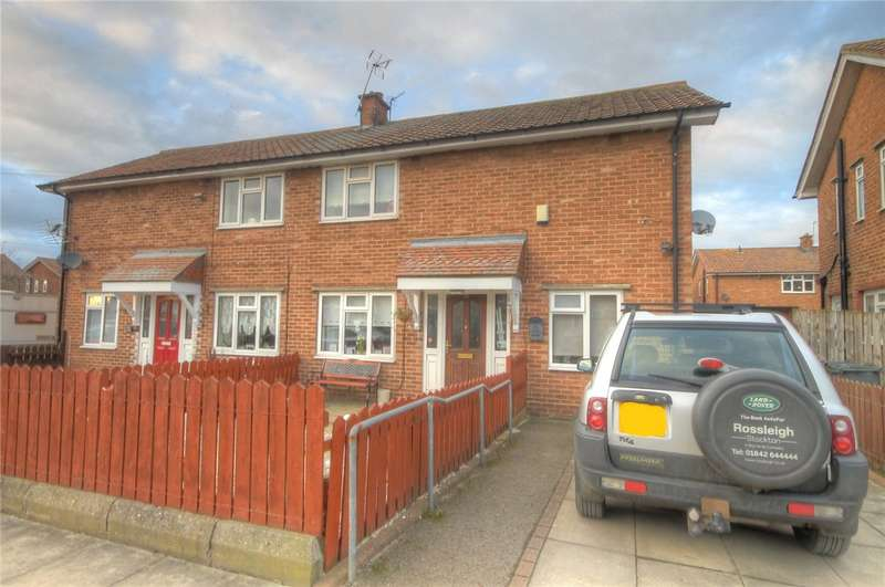 3 Bedrooms Semi Detached House for sale in Hammond Drive, Darlington, DL1