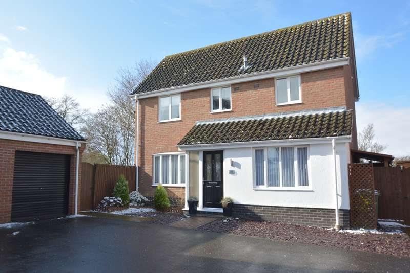3 Bedrooms Detached House for sale in Cranes Meadow, Harleston