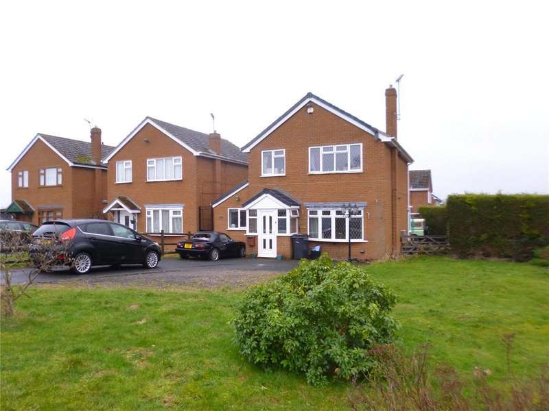 3 Bedrooms Detached House for sale in Yew Tree Grove, Highley, Bridgnorth, Shropshire