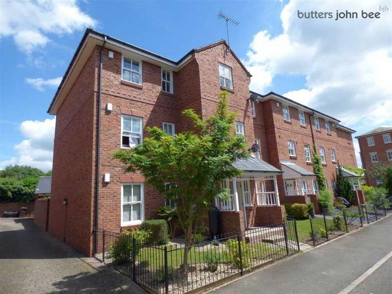 2 Bedrooms Apartment Flat for sale in Trent Close, Stone, Staffordshire