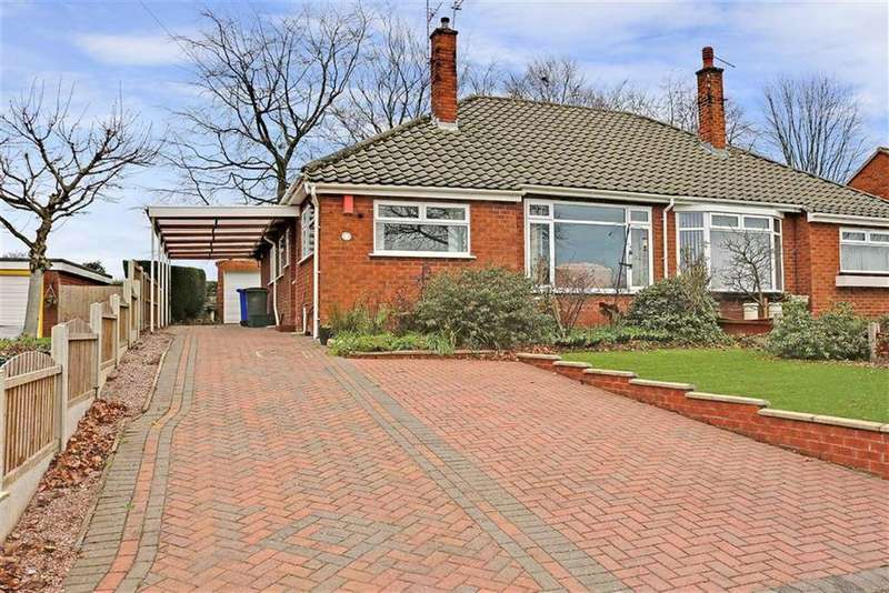 2 Bedrooms Semi Detached Bungalow for sale in Allerton Road, Trentham, Stoke-on-Trent