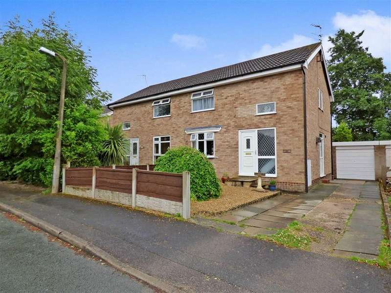3 Bedrooms Semi Detached House for sale in Wingfield Place, Winsford, Cheshire
