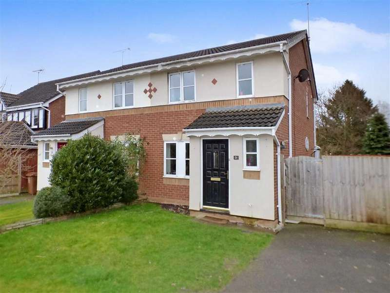 3 Bedrooms Semi Detached House for sale in Anvil Close, Sandbach