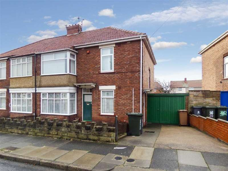 2 Bedrooms Flat for sale in Wooler Avenue, North Shields