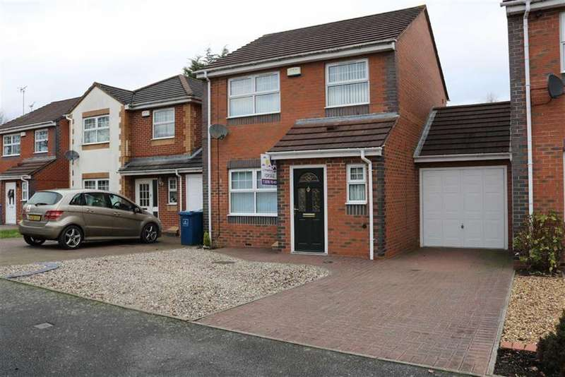 3 Bedrooms Link Detached House for sale in Landor Way, Western Downs, Stafford