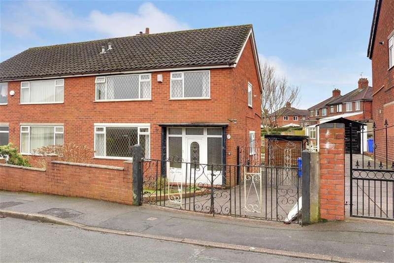 3 Bedrooms Semi Detached House for sale in Sandyfield Road, Northwood, Stoke-on-Trent