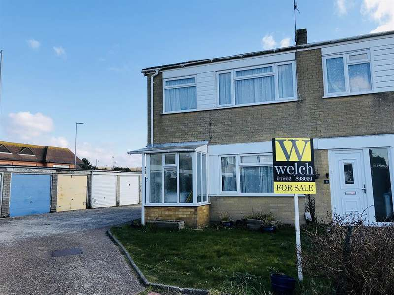 4 Bedrooms End Of Terrace House for sale in Downlands Gardens, Worthing, West Sussex, BN14 9EZ
