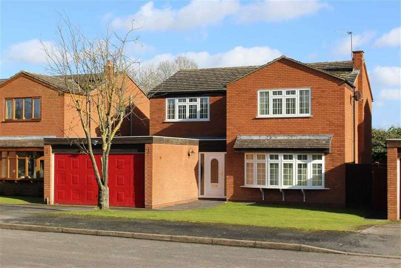 4 Bedrooms Detached House for sale in Newstead Drive, Southam, CV47