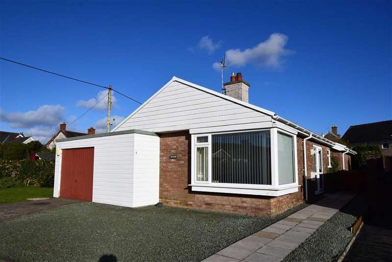 3 Bedrooms Detached Bungalow for sale in 6, Cae Maenllwyd, Machynlleth, Powys, SY20