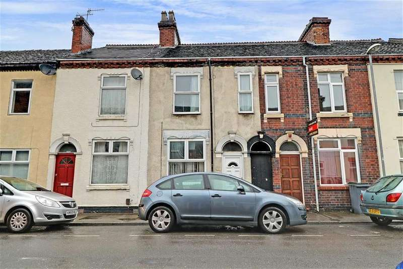 2 Bedrooms Terraced House for sale in Seaford Street, Shelton, Stoke-on-Trent