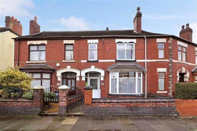 3 Bedrooms Terraced House for sale in Scott Lidgett Road, Stoke-on-Trent
