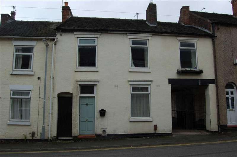4 Bedrooms Terraced House for sale in Well Street, Newcastle-under-Lyme