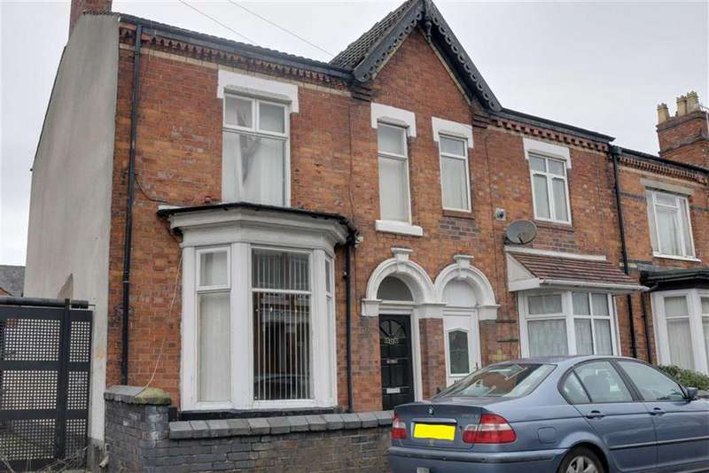 4 Bedrooms End Of Terrace House for sale in Walthall Street, Crewe