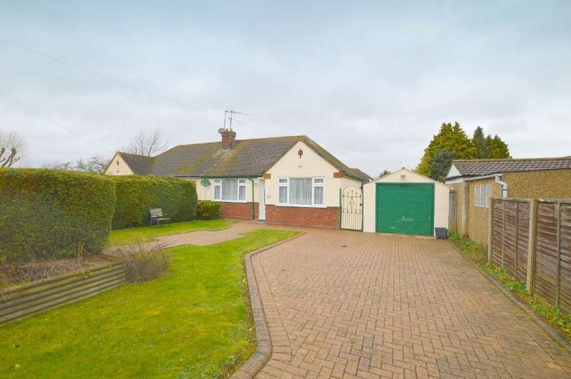2 Bedrooms Bungalow for sale in Poplar Avenue, Luton, LU3 2BP