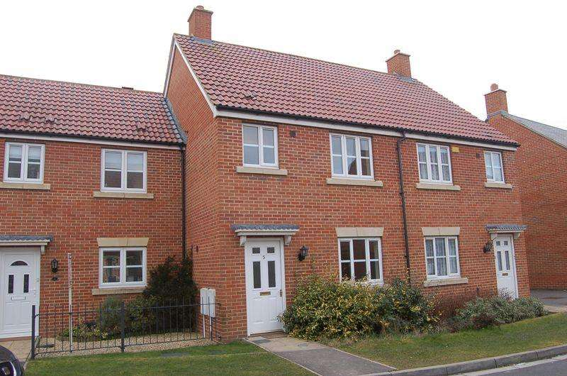 3 Bedrooms Terraced House for rent in Walkers Drive, WESTON VILLAGE