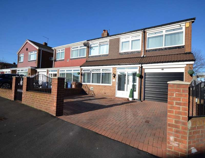 4 Bedrooms Semi Detached House for sale in South West Denton