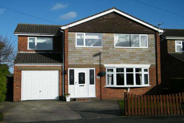 4 Bedrooms Detached House for sale in Amanda Drive, Louth, LN11