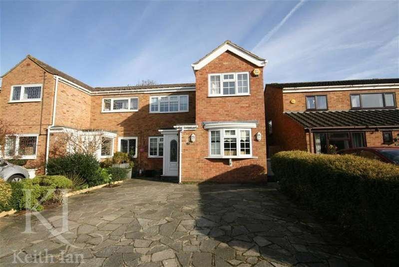 3 Bedrooms Semi Detached House for sale in Westmeade Close, Cheshunt