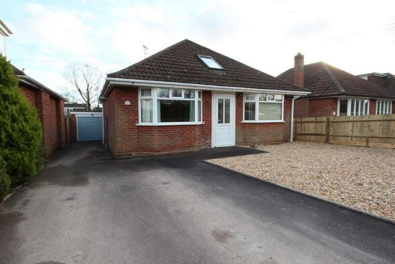 3 Bedrooms Detached Bungalow for sale in Lower Northam Road, Hedge End SO30