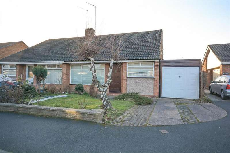 3 Bedrooms Semi Detached House for sale in Treyford Close, Silverdale, Nottingham