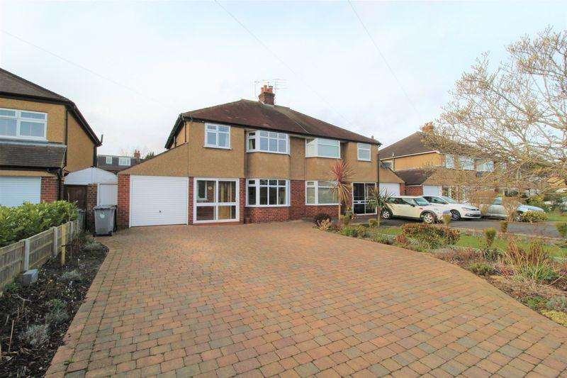3 Bedrooms Semi Detached House for sale in Speedwell Drive, Heswall