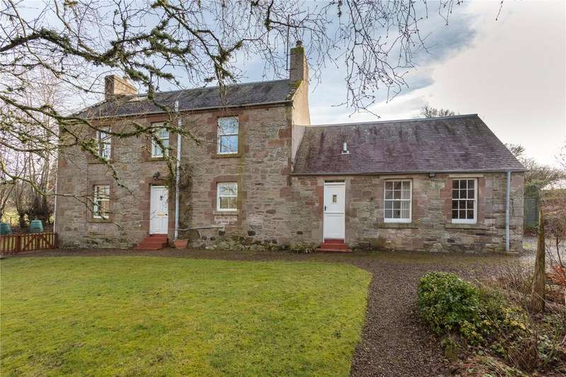 4 Bedrooms Detached House for sale in Townhead, Ancrum, Jedburgh, Roxburghshire, Scottish Borders