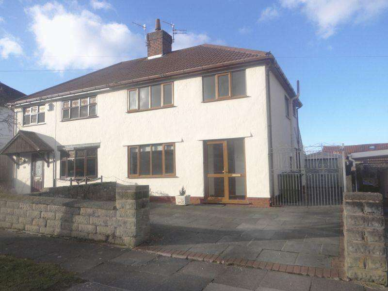 3 Bedrooms Semi Detached House for rent in Heather Bank, Higher Bebington