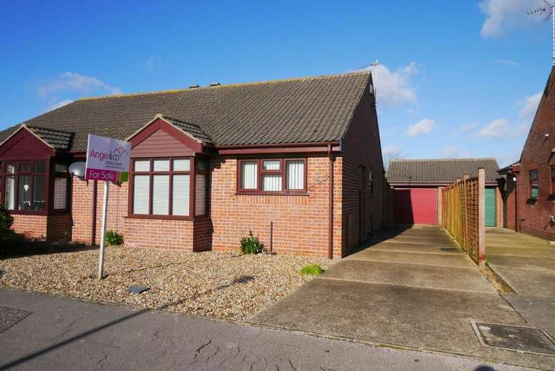 2 Bedrooms Semi Detached Bungalow for sale in Smiths Walk, South Oulton Broad, Lowestoft