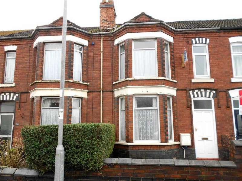 3 Bedrooms Terraced House for sale in Hungerford Road, Crewe, Cheshire