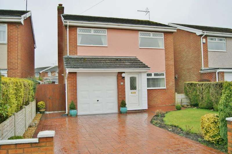 3 Bedrooms Detached House for sale in Greengate Farm, Coedpoeth
