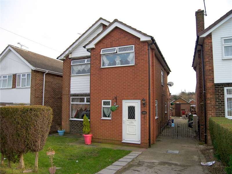 3 Bedrooms Detached House for sale in Coronation Drive, South Normanton, Alfreton, Derbyshire, DE55