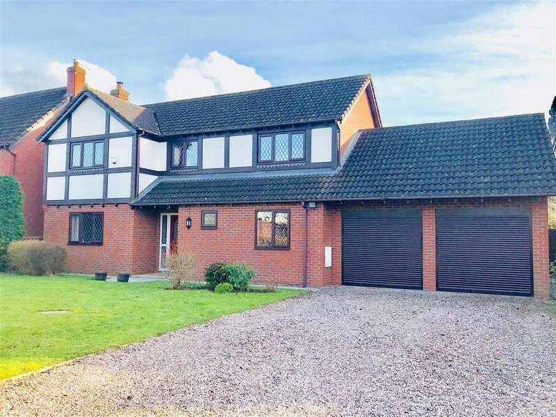 4 Bedrooms Detached House for sale in Fismes Way, Wem, Shropshire