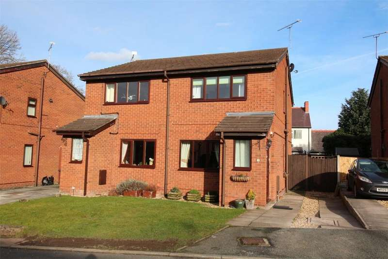 2 Bedrooms Semi Detached House for sale in Shaftesbury Avenue, Gwersyllt, Wrexham, LL11