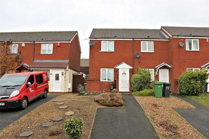 1 Bedroom End Of Terrace House for sale in Weavers Rise, Netherton, DUDLEY, West Midlands