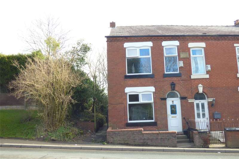 3 Bedrooms Semi Detached House for sale in Ashton Road, Bardsley, Oldham, Greater Manchester, OL8