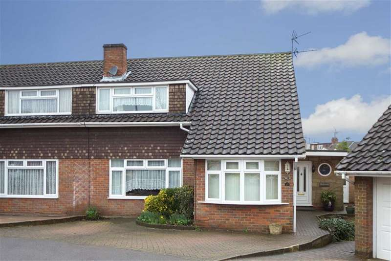 4 Bedrooms Semi Detached House for sale in Lambs Close, Dunstable, Bedfordshire, LU5