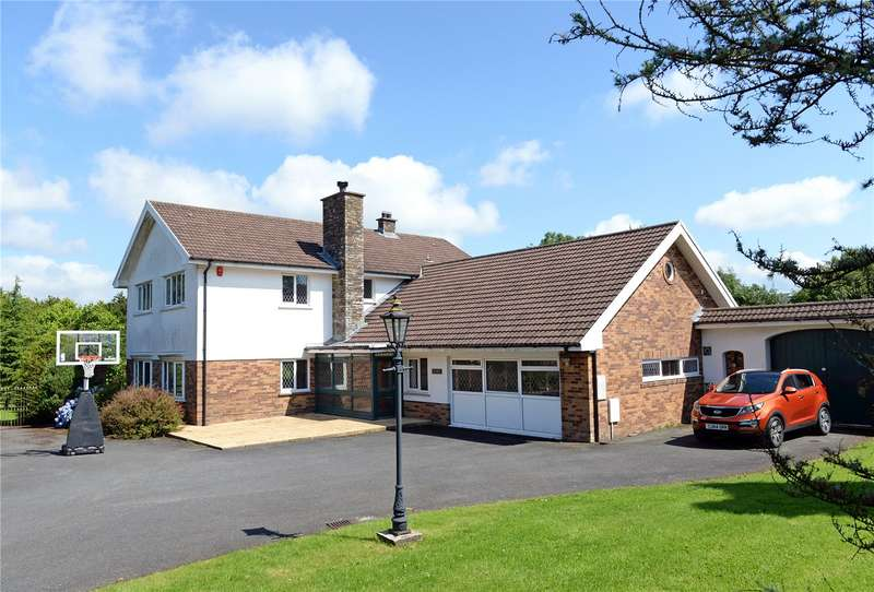 5 Bedrooms Detached House for sale in Uley House, Jesse Road, Narberth, Pembrokeshire
