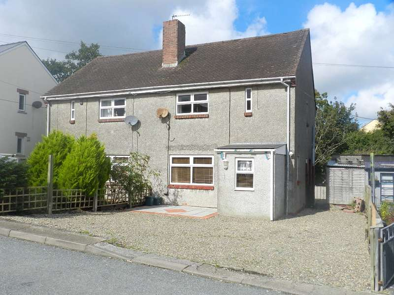 2 Bedrooms Semi Detached House for sale in Winch Crescent, Haverfordwest, Pembrokeshire