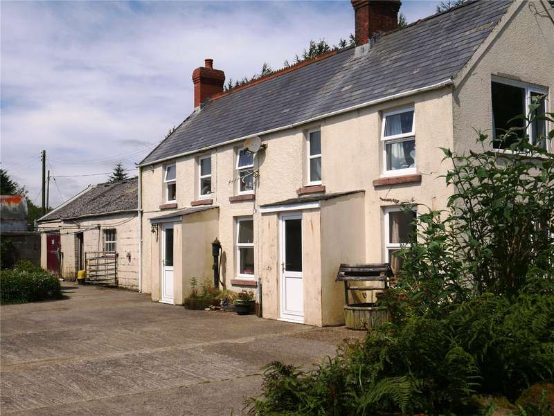 5 Bedrooms Detached House for sale in Bwlch Y Pant, Rhosfach, Clynderwen, Pembrokeshire