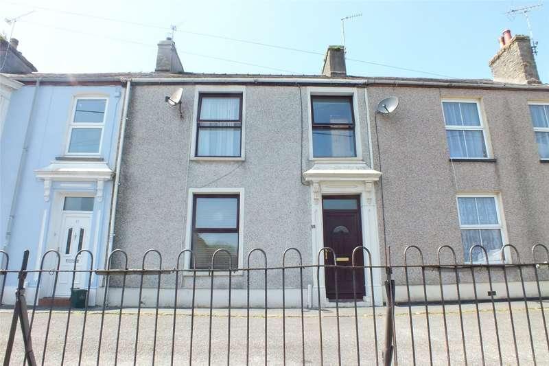 3 Bedrooms Terraced House for sale in Norgans Terrace, Pembroke, Pembrokeshire