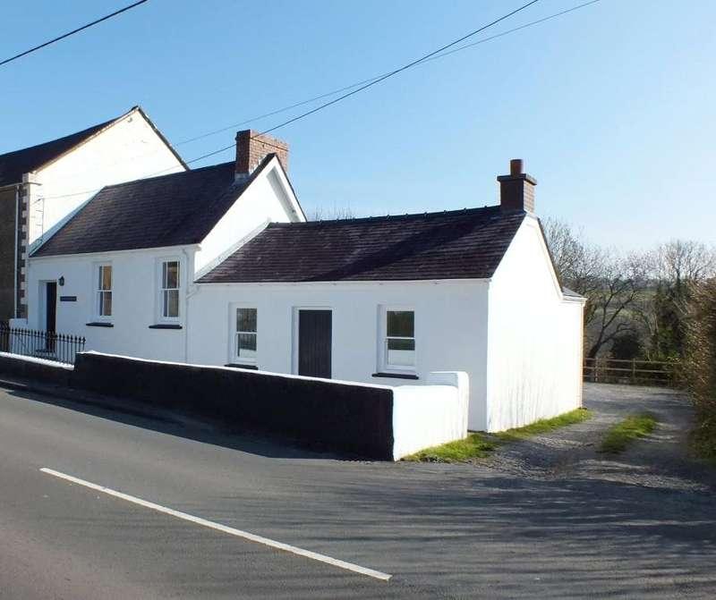 3 Bedrooms Semi Detached Bungalow for sale in Zion School House, Begelly, Kilgetty, Pembrokeshire