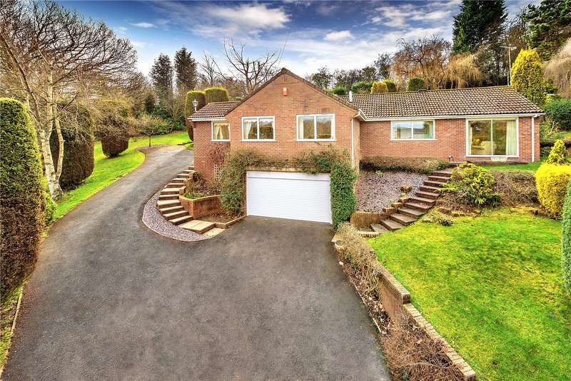 3 Bedrooms Detached Bungalow for sale in The Old Rectory, Ironbridge Road, Broseley, Shropshire, TF12