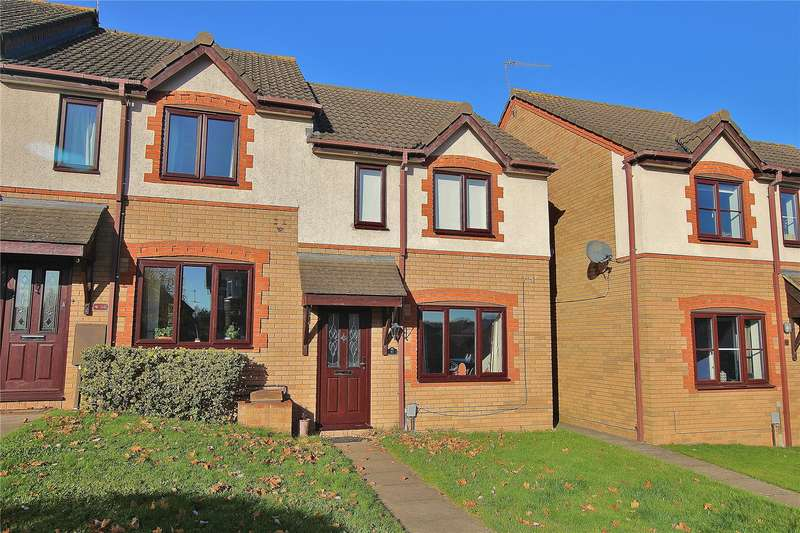 3 Bedrooms End Of Terrace House for sale in Percheron Drive, Knaphill, Surrey, GU21