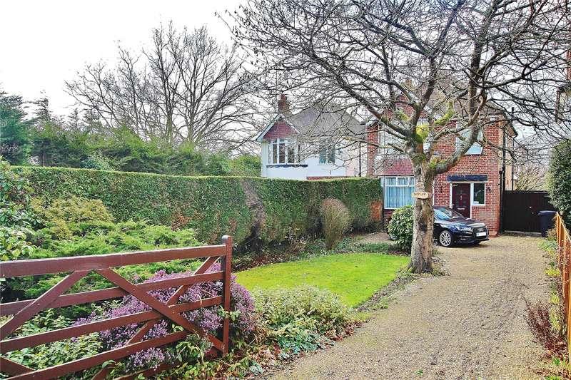 3 Bedrooms Detached House for sale in Bagshot Road, Knaphill, Woking, Surrey, GU21
