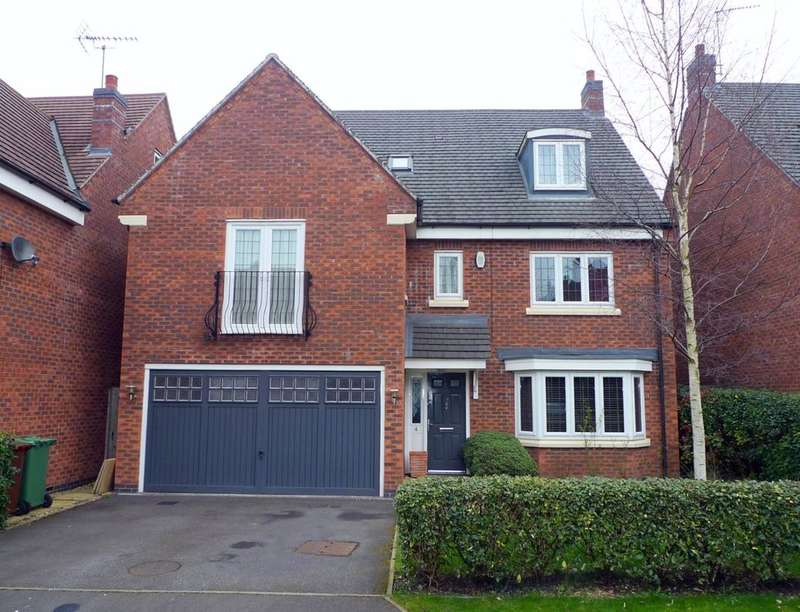 6 Bedrooms Detached House for sale in Oakbrook Close, Stafford, ST16