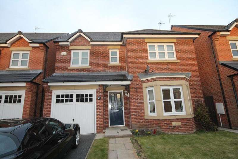 4 Bedrooms Detached House for rent in St Phillips Close, Auckland Park, Bishop Auckland